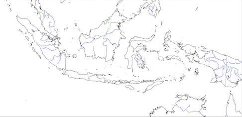 Negara ini memiliki perairan sangat indah dengan luas 3.257.483 km 2. Peta Buta Indonesia Indoprogress