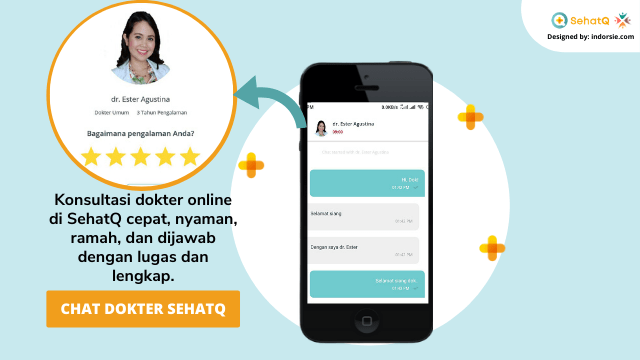 fitur chat dokter sehatq