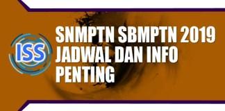 Tanggal Pengumuman Hasil Seleksi SNMPTN SBMPTN 2019 Dengan Daftar Nama Yang Lulus