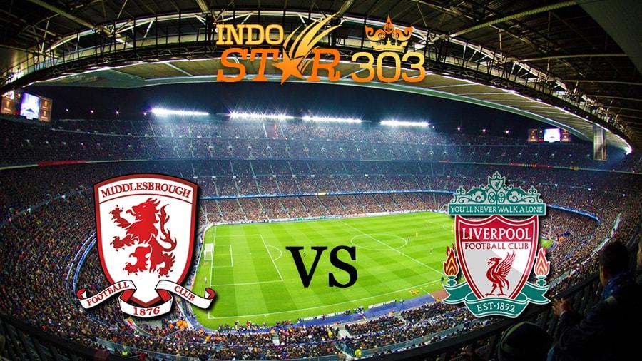 Agen Bola Terpercaya - Prediksi Pertandingan Middlesbrough vs Liverpool