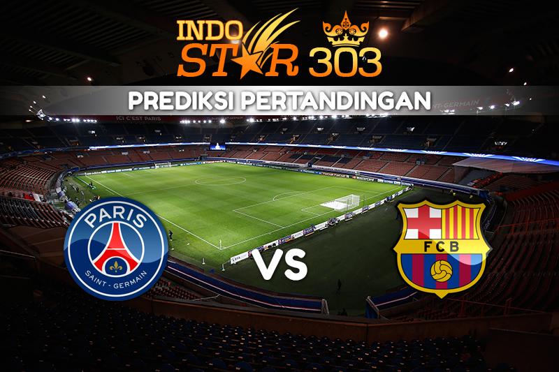 Agen Bola Terpercaya - Prediksi Pertandingan Paris Saint Germain vs Barcelona