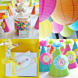 Membuat Tema Pesta Ulang Tahun Anak