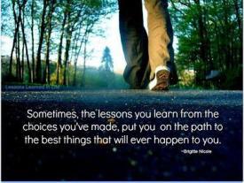 Pelajaran yang bisa diambil dari hidup