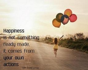 Menciptakan Kebahagiaan Sendiri
