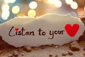 Mendengarkan Kata Hati