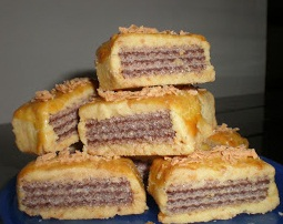 resep kue wafer cheese cookies