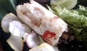 resep nasi bakar ayam jamur