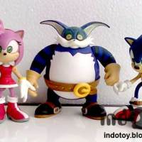 Jual Sonic The Hedgehog Action Figure