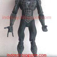 Jual Black Spiderman Action Figure