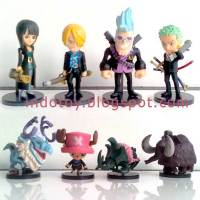 Jual One Piece Strong Wold Chibi seri 4