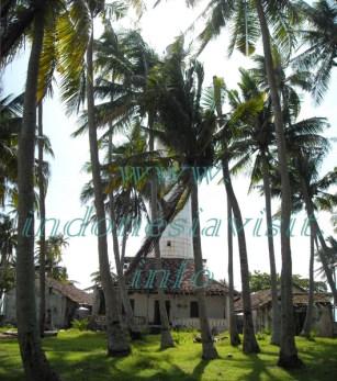 lighthouse at lengkuas island, belitong