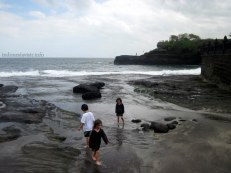 other side of tanah lot