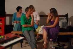 11. Indra in a short break, talking with Ramona