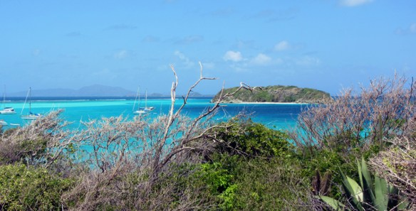Widok na wyspę Jamesby z Baradal