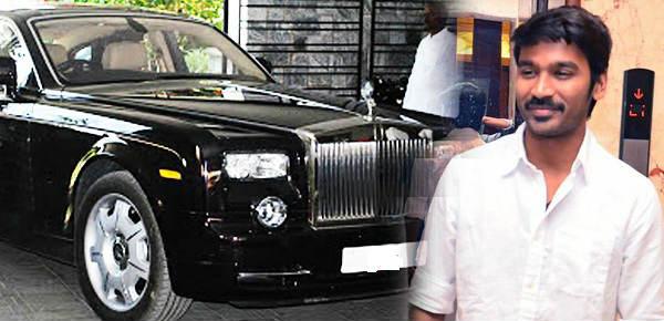 Image result for dhanush rolls royce car