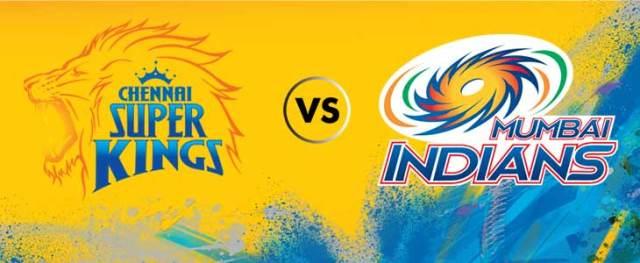 IPL 2018 Live Stream- Chennai Super Kings vs Mumbai Indians