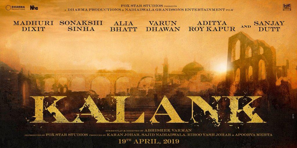 Kalank Film Poster