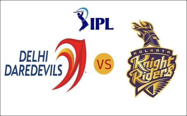 Kolkata Knight Riders vs Delhi Daredevils