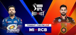 Mumbai Indians vs Royal Challengers Bangalore