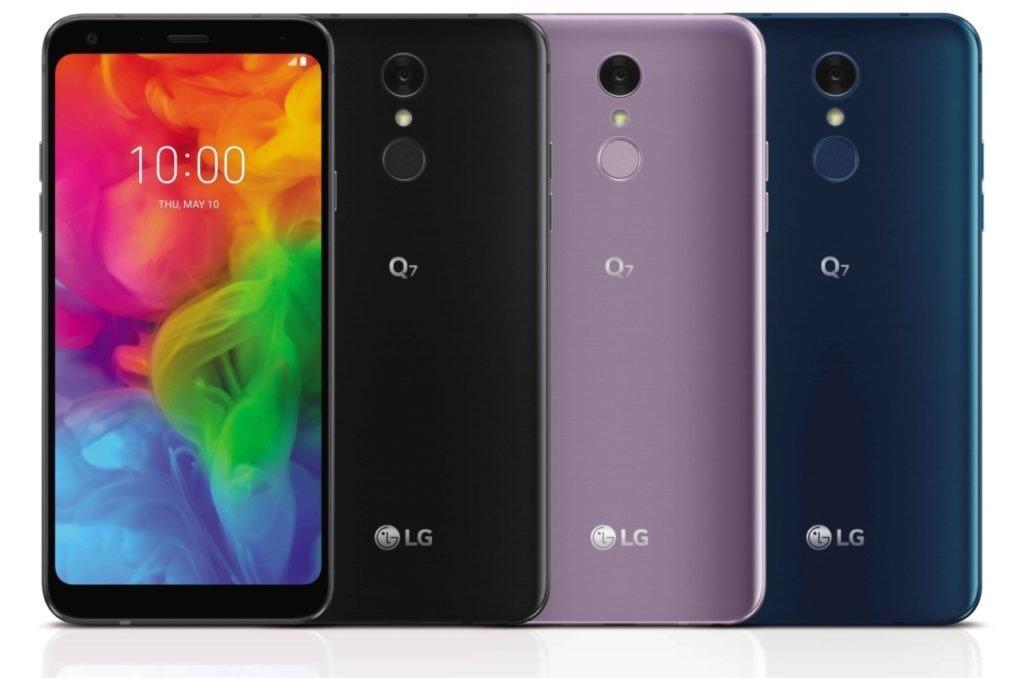 LG Q7 series