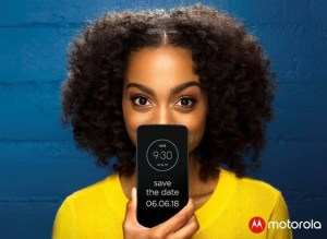 Moto Z3 Play Launch Poster