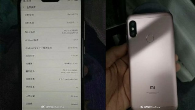 About phone settings of Redmi 6 Pro