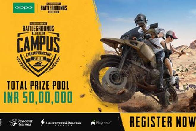 Tencent announces first PUBG Mobile Campus Championship 2018 for India with Rs 50,00,000 Prize Pool