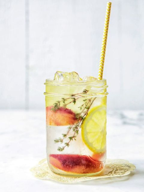 peche - citron -thym