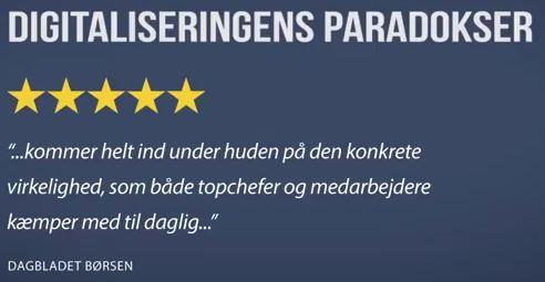 Børsens Anmeldelse af Digitaliseringens Paradokser 30.11.17
