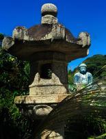 Around Japan - Amida Buddha at Kōtoku-in in Kamakura by Matias Masucci