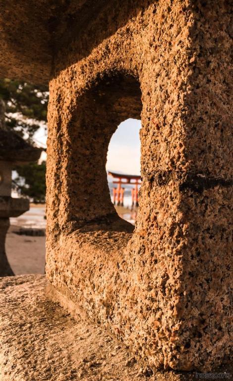 Around Japan - Miyajima Torii Gate 2 by Matias Masucci