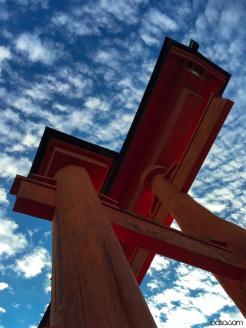 Around Japan - Miyajima Torii Gate by Matias Masucci