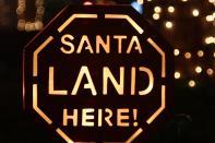 Santa Land Here by Matias Masucci