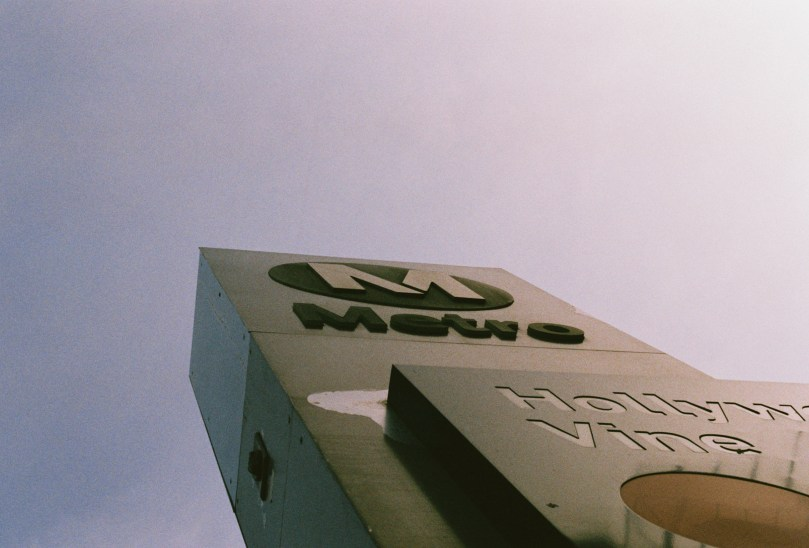 A Walk Around Hollywood 35mm photography by Matias Masucci Los Angeles freelance photojournalism.