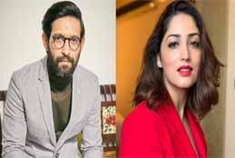 Yami Gautam, Vikrant Massey shoot in Ghaziabad for next