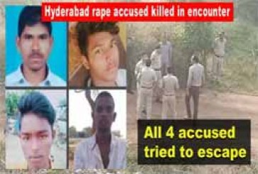 Cyberabad Police kill suspects in Indian vet's rape and murder