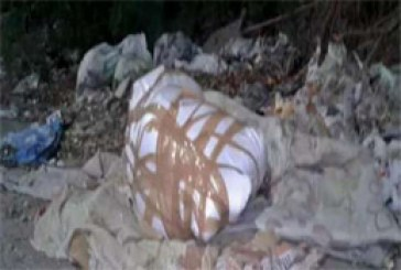 A Woman Body Found Wrapped In Plastic Cover