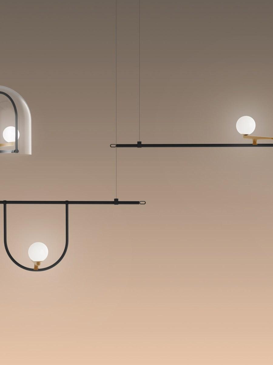 yanzi lamp collection nerihu artemide