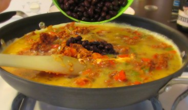 Soyrizo burritos 6