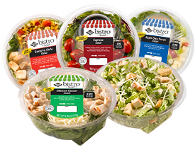 Ready Pac Salads are at most chain grocery stores nowadays.