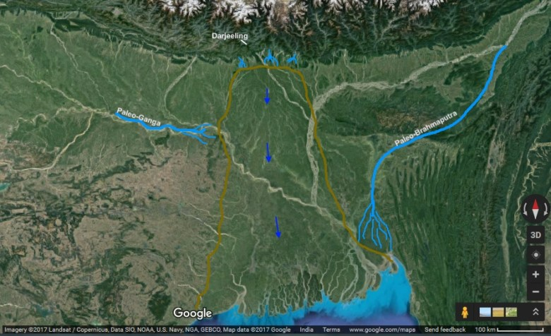 The Bay Of Bengal Once Touched Sikkim  Indus Dictum