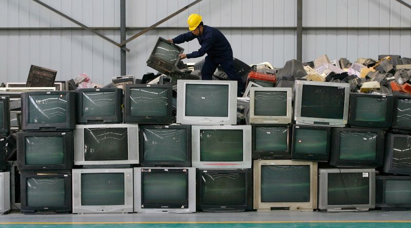 E Waste management (photo by reuters)