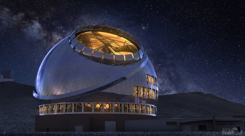 Thirty Meter Telescope, La Palma (Spain) (cover)