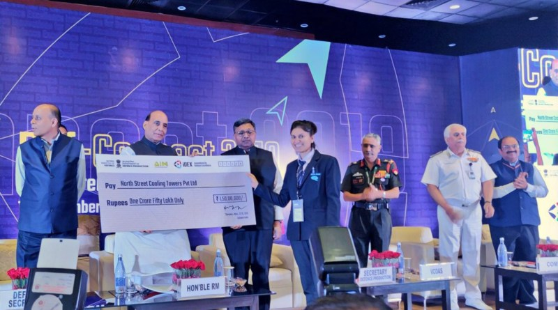 DefMin Rajnath Singh awards Rs 3 crore to two startups; says innovation is key to self-reliance in defence sector