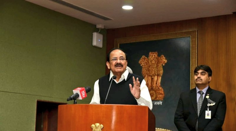 Group of MPs to discuss challenges posed by social media, porn: Vice President Naidu