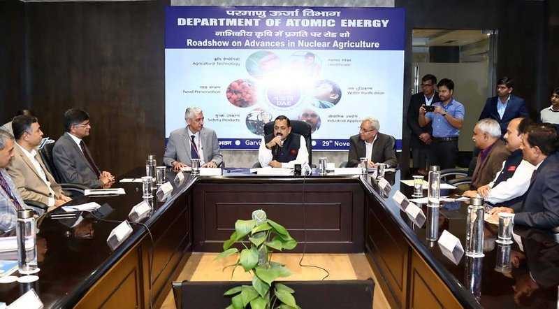 India needs nuclear agri tech for food security, climate-resilient crops: Union Min Jitendra Singh