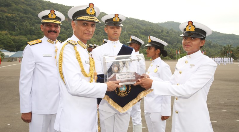 Indian Naval Academy holds Passing Out Parade for Autumn Term, 39 women cadets graduate