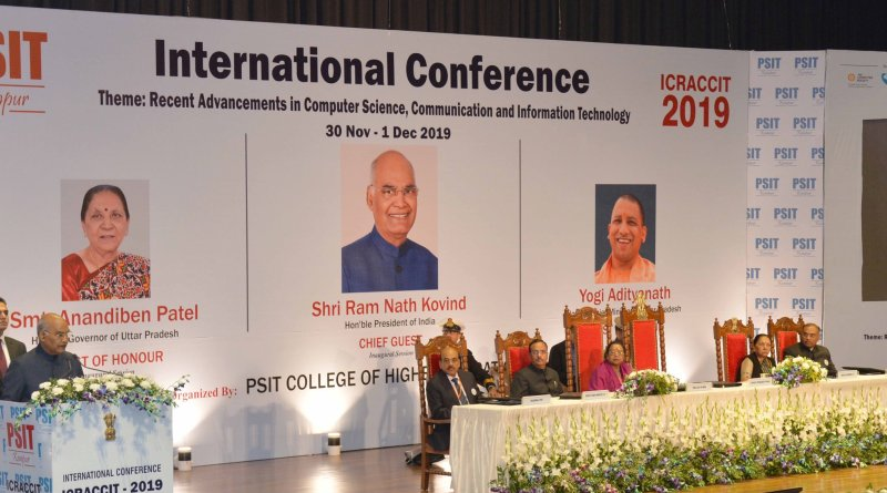 Kovind says tech is great servant but bad master; Inaugurates Conference on Computer, Comm & IT