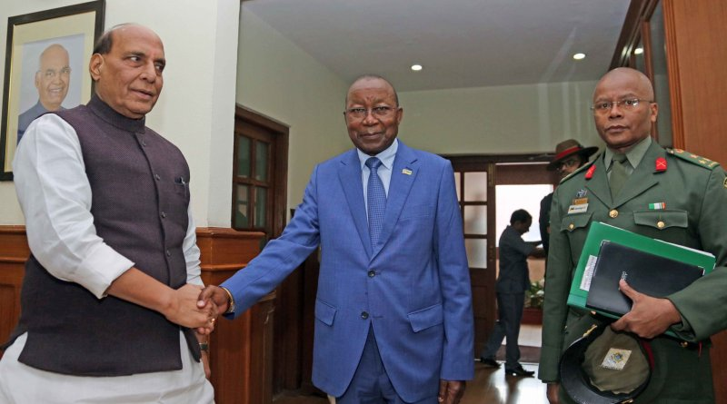 Mozambique Defence Minister meets Rajnath, both reiterate commitment to bilateral cooperation