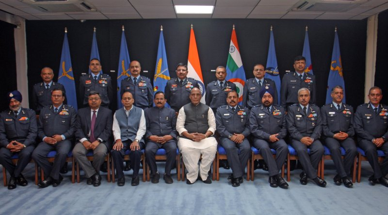 Rajnath at IAF Commanders' Conference: Nation is proud of the Indian Air Force